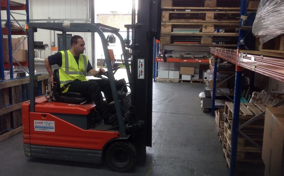 Swan Forklift Training